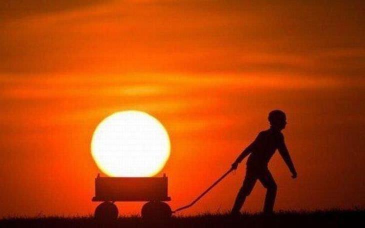 Fotos Que Capturam O Sol De Maneira Mágica!