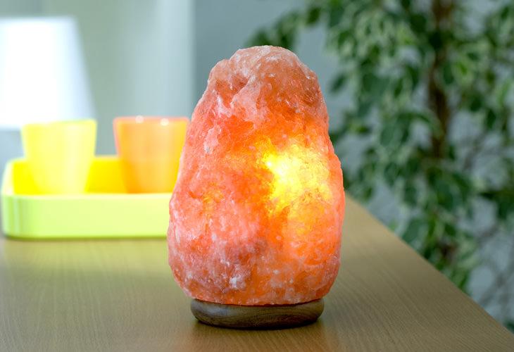 Os benefícios das lâmpadas de sal do Himalaia
