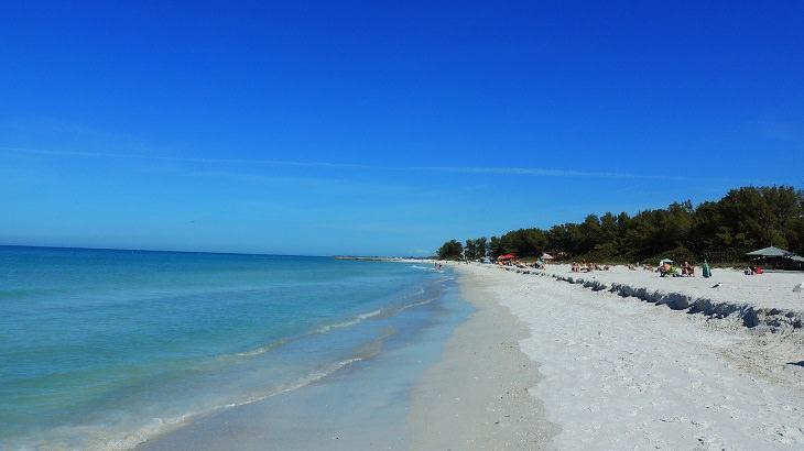 As 10 ilhas belas da Flórida