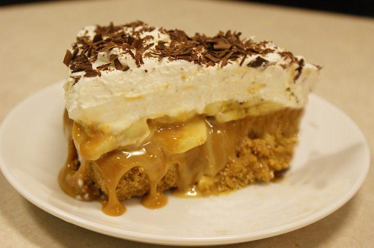 Aprenda a receita que encanta os ingleses: Torta Banoffee de Caramelo