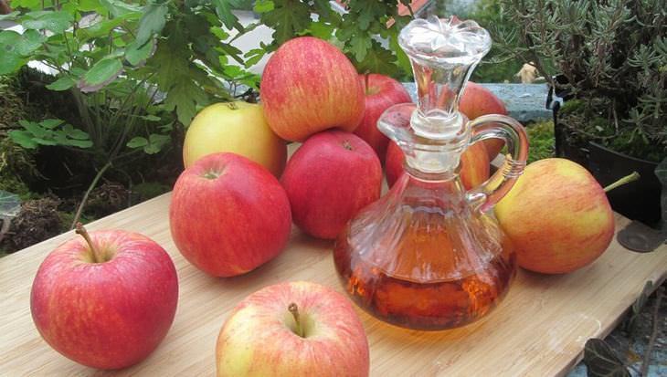 benefícios do vinagre de maçã à saúde