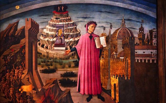 Figura da Divina Comédia de Dante
