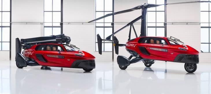 PAL-V o primeiro carro voador comercial do mundo