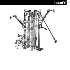 Four Stack Cable Station L360FS