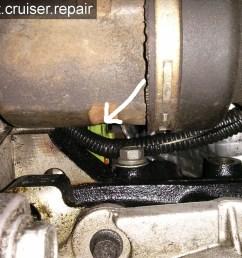 position du capteur de pression d huile sur un pt cruiser 2 4l essence [ 1632 x 1224 Pixel ]