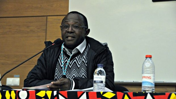 La Conférence internationale sur l'Activisme en Afrique organisée par le Centre d'études internationales de l'Institut universitaire de Lisbonne (CEI-IUL), a eu lieu à ISCTE-IUL du 11 au 13 janvier 2017. Photo de Hugo M. Alexandre Cruz . Publié avec permission.