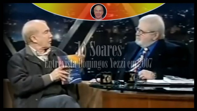 Domingos Yezzi no Programa do Jô Soares