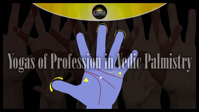 Some Yogs of Profession in Vedic Palmistry