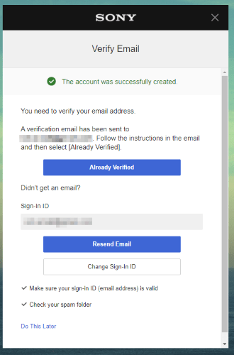 Ps4 Overseas Verify Email