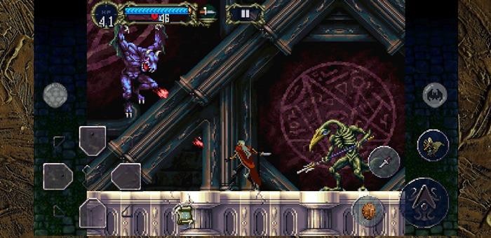 Novos jogos iOS para Android Castlevania Sotn