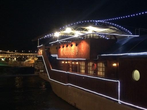 O barco