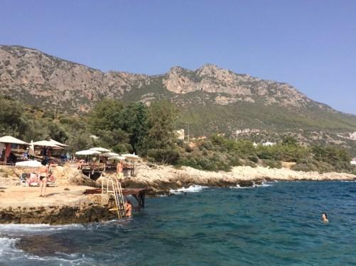 Uma das praias de Kaş