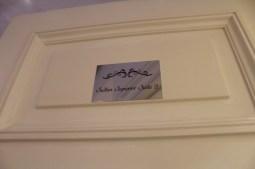 A porta do meu quarto