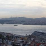 Vista da Torre Galata, Istambul, por Packing my Suitcase.
