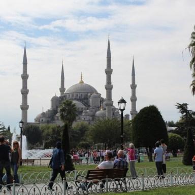 Mesquita Azul, Istambul, por Packing my Suitcase.