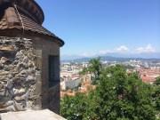 Vista do Castelo Ljubljana