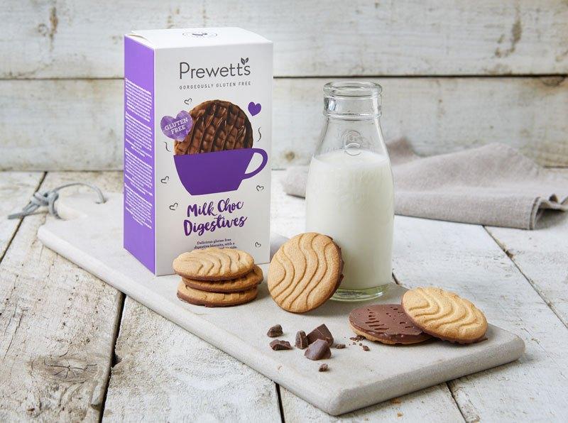 Digestivas de Chocolate de Leite