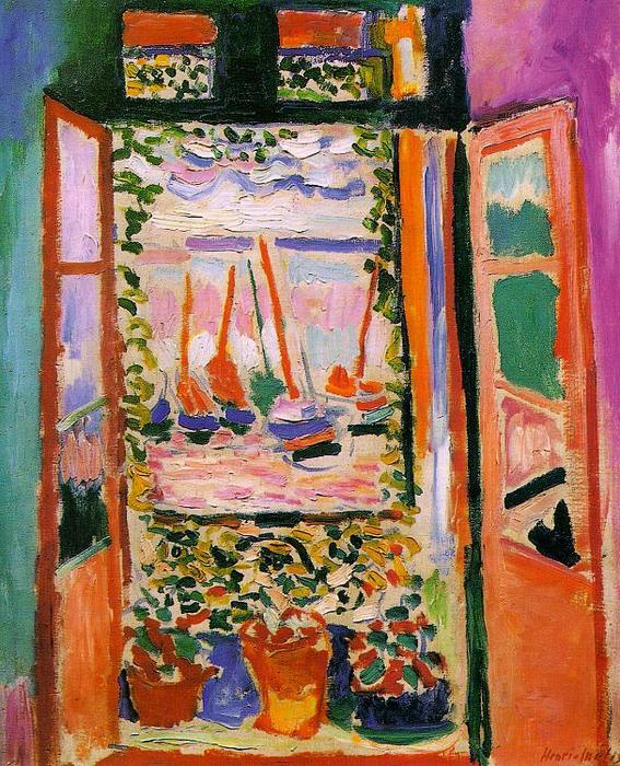 Resultado de imagem para A Janela Aberta Matisse
