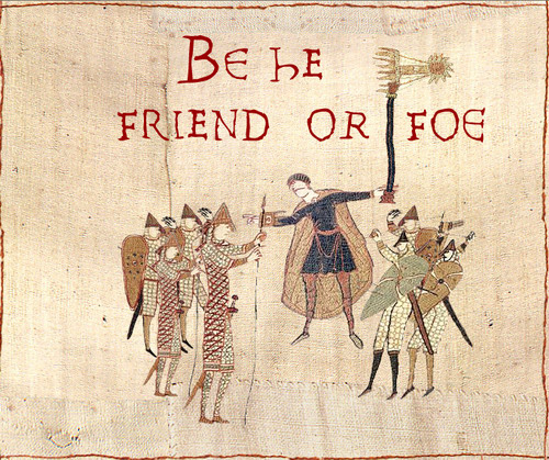 how to make your own bayeux tapestry