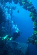 Vassilios Wreck - Adriatic sea