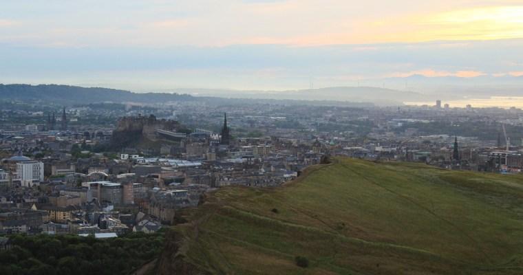 Edynburg: pierwsze wrażenia