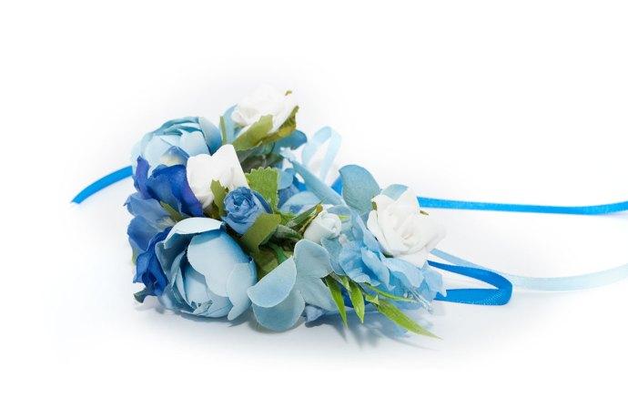 wianek na rękę wielki błękit