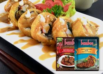 Beef Roll Saus Rendang