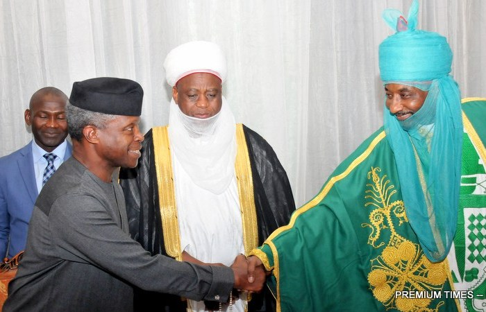 #HealthDialogue: Osinbajo, Emir Sanusi, other stakeholders to discuss critical issues affecting Nigeria's health sector