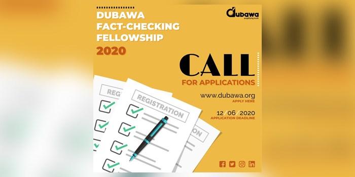 Call for Application – Dubawa Fact-Checking Fellowship 2020