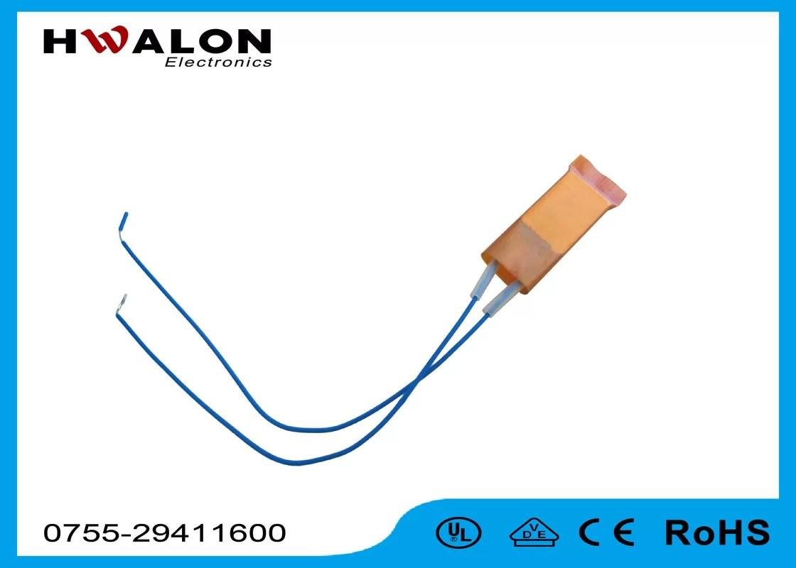 PTC Ceramic Heater Thermistor , Ceramic Resistor Heater