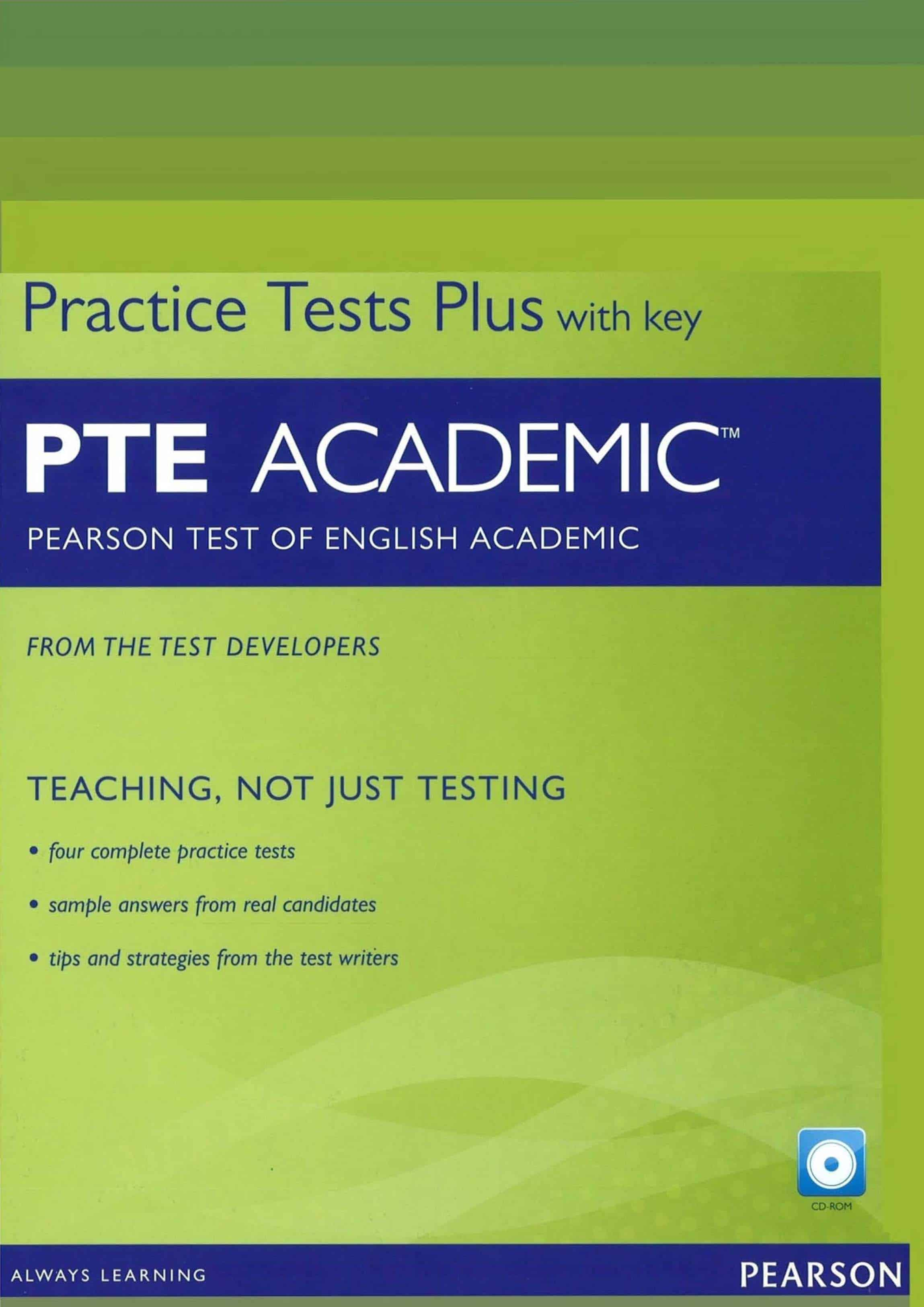 Pearson Test of English Academic Practice Tests Plus and