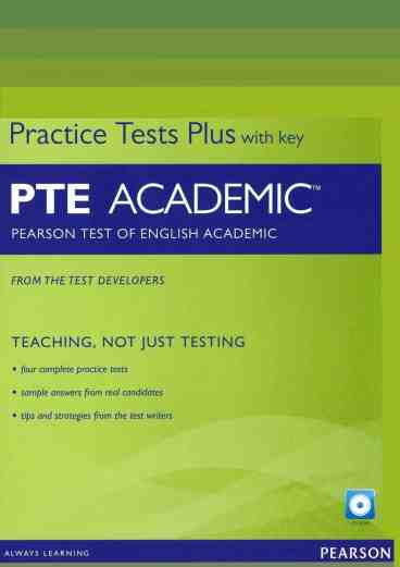 PTE Pearson Test of English Academic Practice Tests Plus