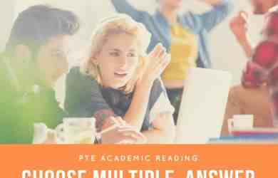 PTE Academic Reading: MCQ – Choose Multiple Answer Practice Test 06