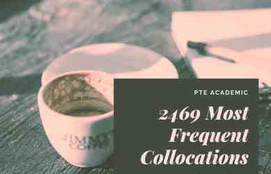 2469 Most Frequent Collocations