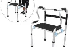 Folding/Adjustable Walker Assistive Devices Folding/Adjustable Walker