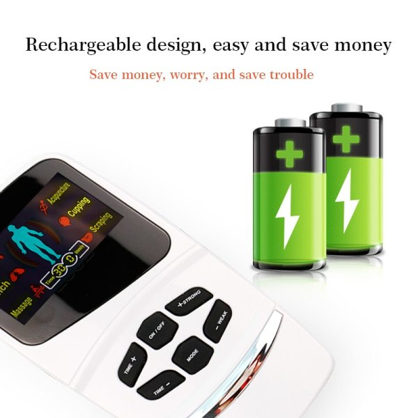 6 Mode Voice activated EMS/TENS Machine with Smart LCD TENS/EMS 6 Mode Voice activated EMS/TENS Machine with Smart LCD