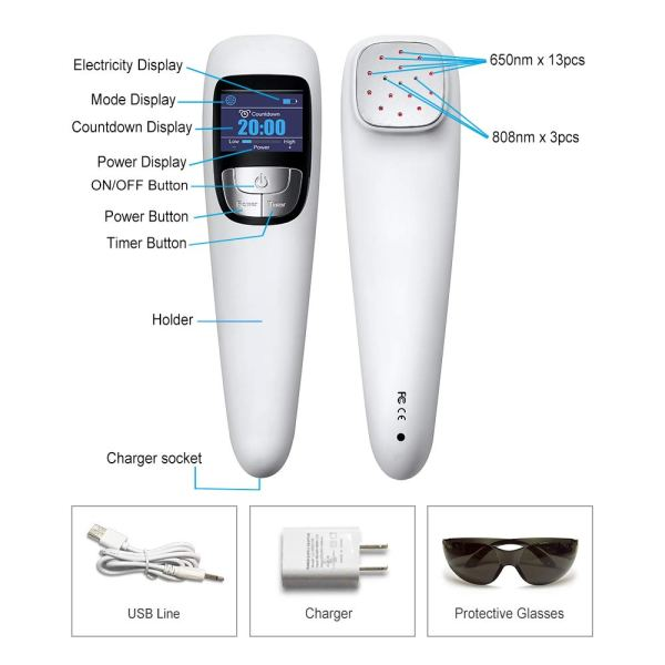 Cold Laser Red Light Therapy Device Physiotherapy Cold Laser Red Light Therapy Device