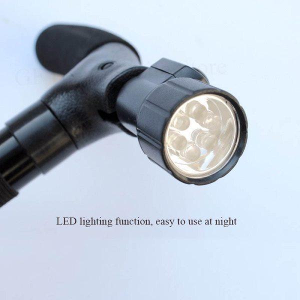Cane with LED flashlight Canes Cane with LED flashlight