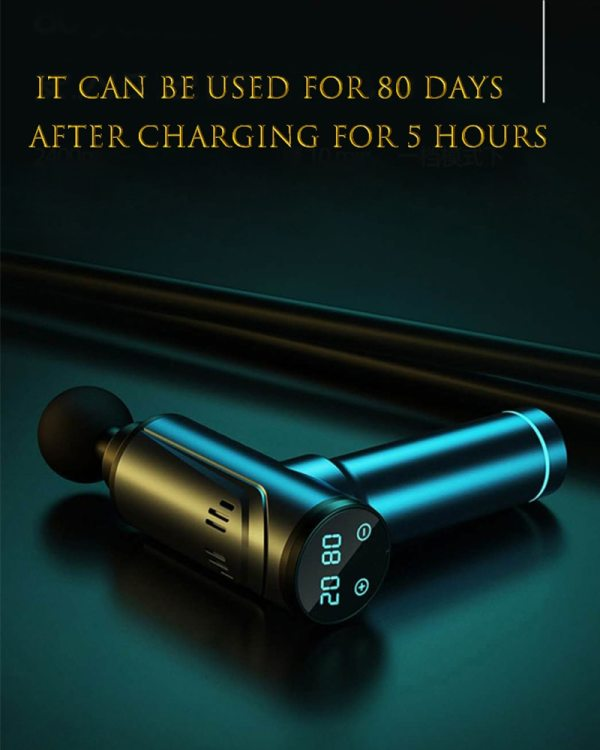 POWCAN Massage gun with LCD display Massage & Relaxation POWCAN Massage gun with LCD display