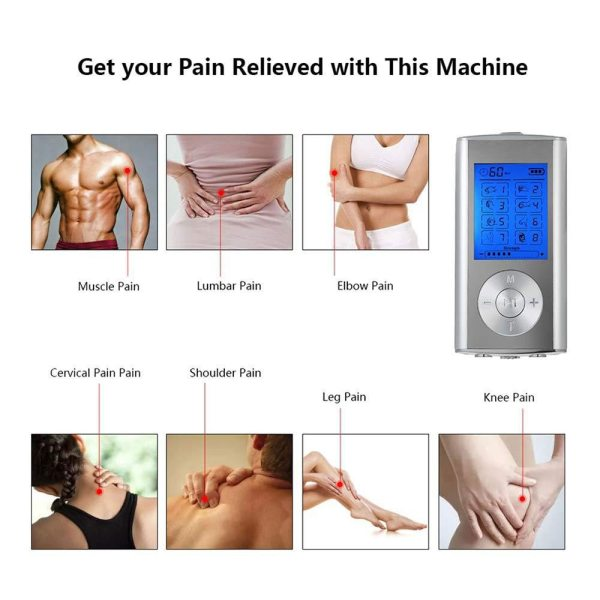 FDA Approved TENS/EMS Machine Massage & Relaxation FDA Approved TENS/EMS Machine