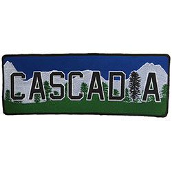 Cascadia Back Patch