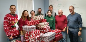 PTG Participating in the Shoebox Drive for Fr McKenna Foundation