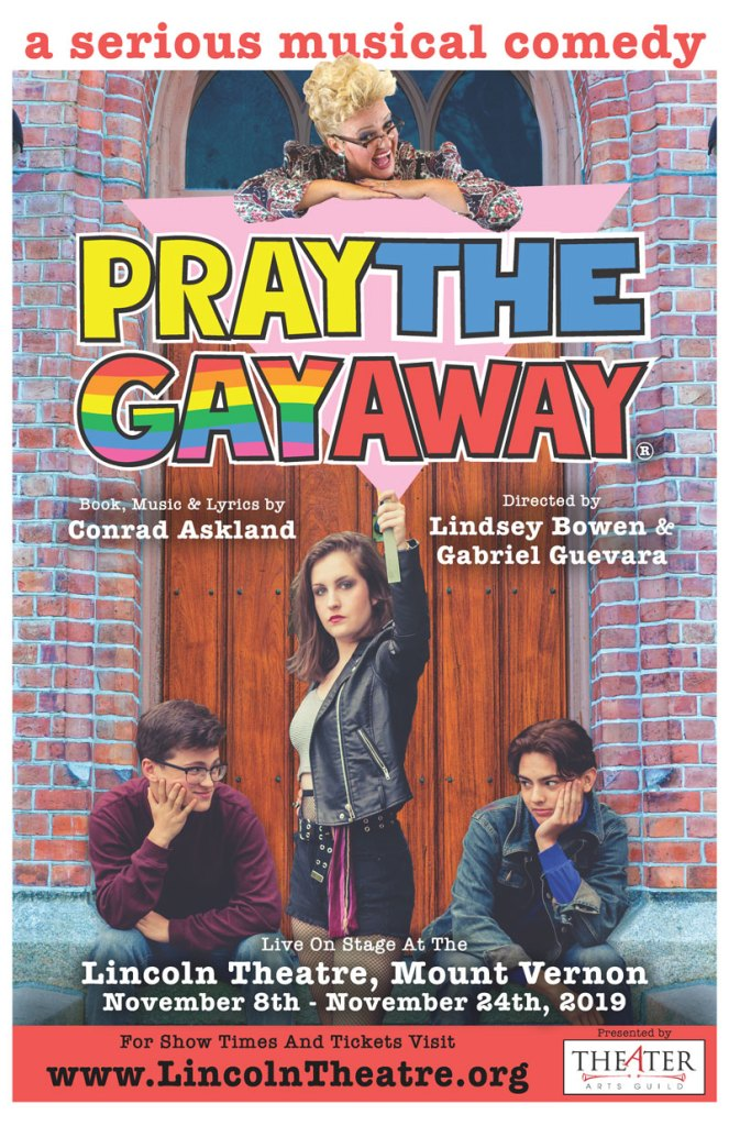 Pray the Gay Away® poster