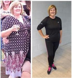 Caroline before and after! Southampton Personal Trainer Gen Preece Boot Camp