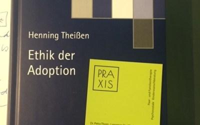 """Neues Buch """"Ethik der Adoption"""""""