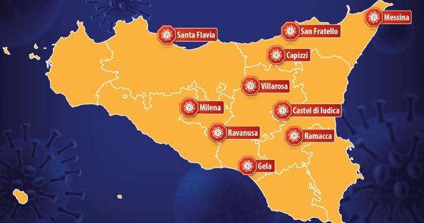 COVID - Gela e Villarosa diventano zone rosse