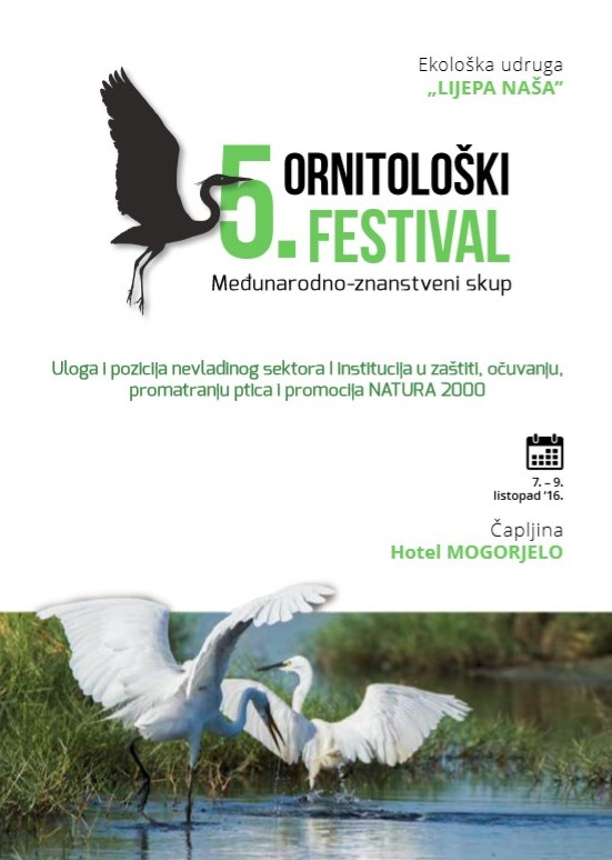 5th Ornithofestival Capljina – Abstract book with agenda