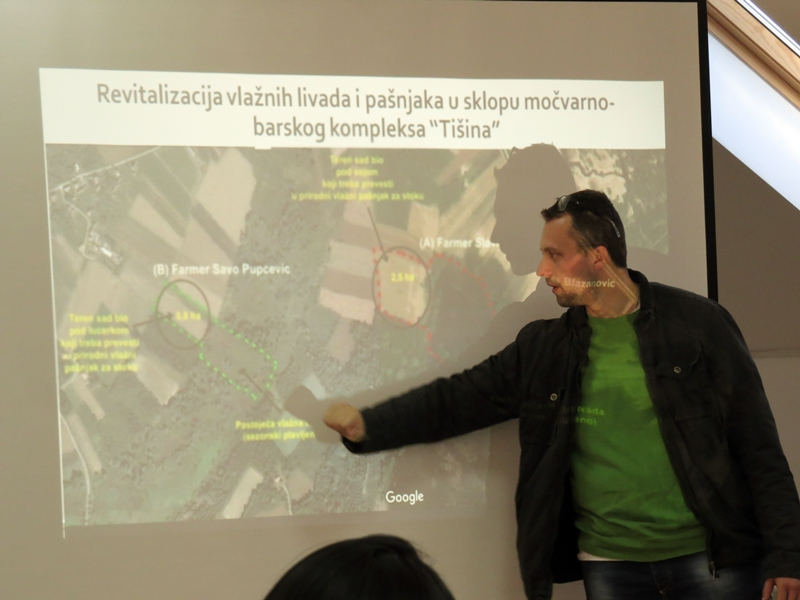 Project for restoration of pastures and meadows around Tišina swamp presented in Šamac