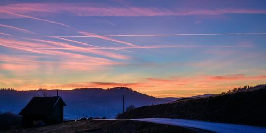 Sunset vosgien