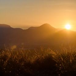 Puesta de sol en La Paca